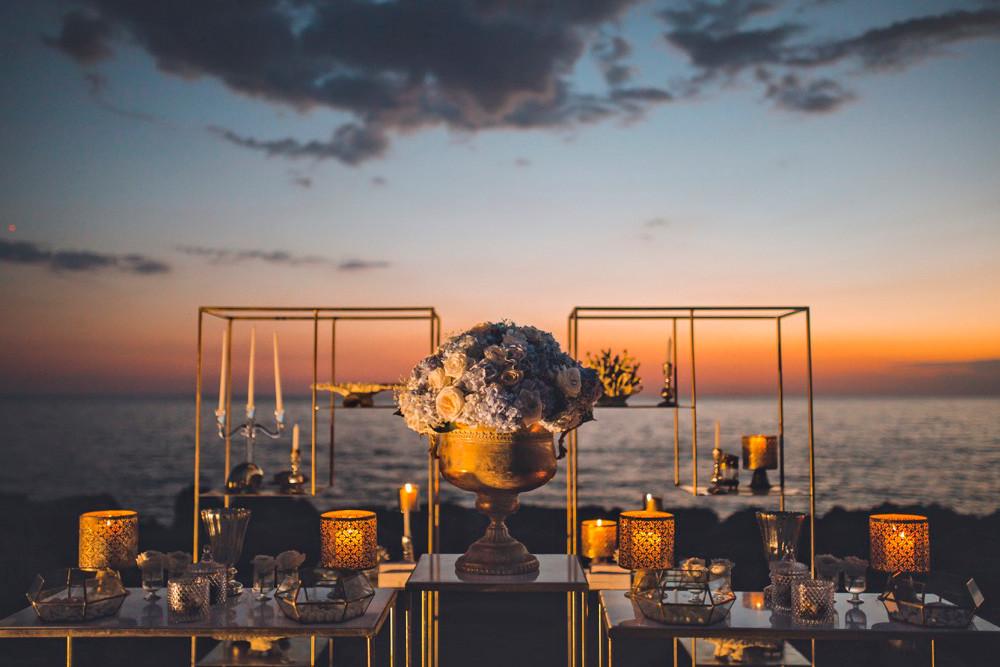 Come nelle favole: Squared gold, quando il matrimonio diventa una favola d'arte moderna
