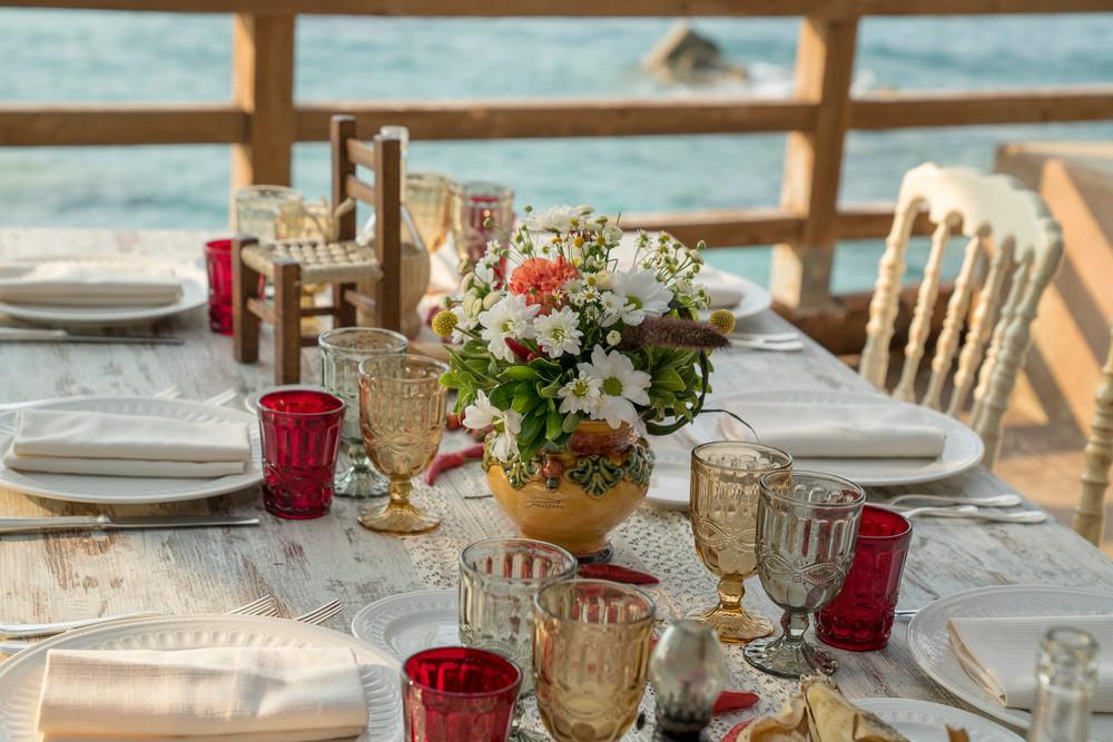 """Un matrimonio """"Mediterranean style"""" Tutta l'eleganza selvaggia del Sud"""
