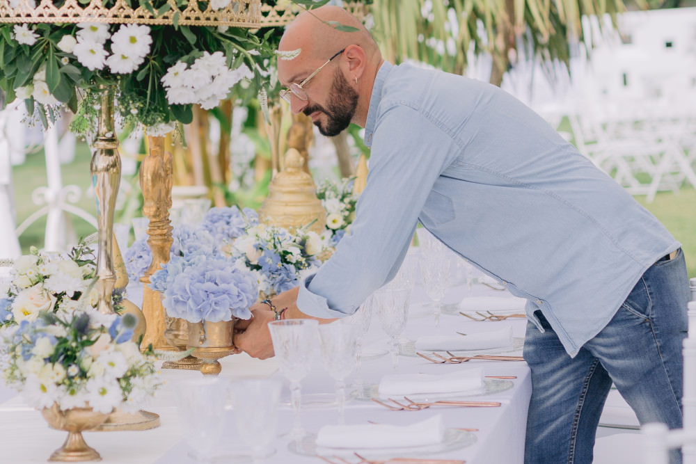Un battesimo in blu