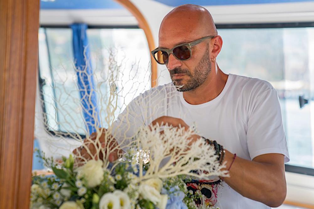 Matrimonio in barca - Promessa d'amore fra le onde, nel blu dipinto di blu