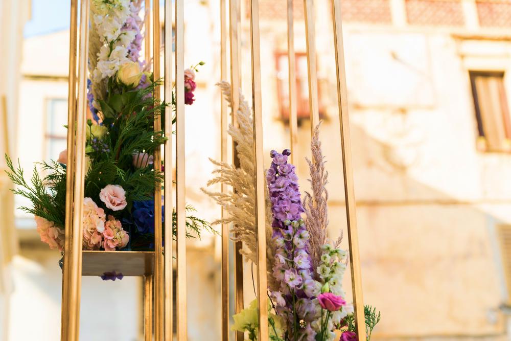 Prismatic Gold Wedding