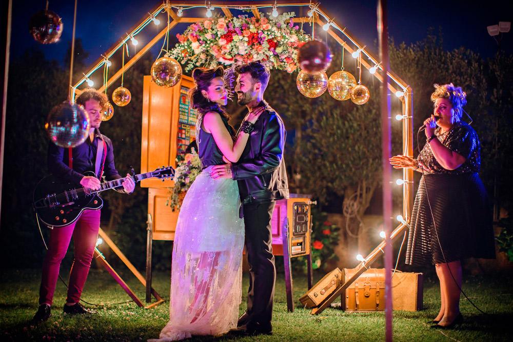 """© Copyright 2019 Gianni Cortese. Tutti i diritti riservati. Il tuo bacio è come il rock Le nozze """"Grease"""""""
